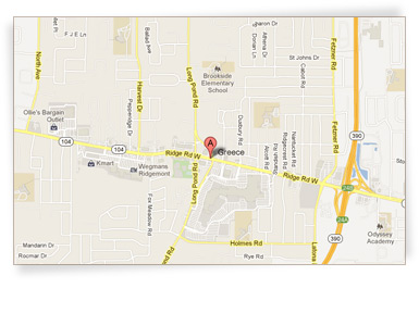 Map of our store