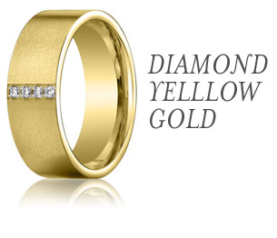 Diamond Yellow Gold
